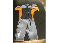 Boys 7-8 wetsuit, No Fear label