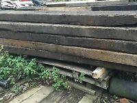 Railway Sleepers -New and Used