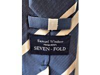 VERY SMART - SAMUEL WINDSOR - SEVEN FOLD - HAND MADE - 100% SILK