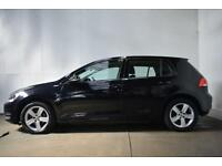 VOLKSWAGEN GOLF 2.0 MATCH TDI BLUEMOTION TECHNOLOGY 5d 148 BHP HAT (black) 2015