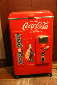 Coke Coca Cola Classic Nostalgia Cooler-Ice Chest on Wheels