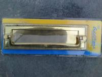 Letter box with door knocker