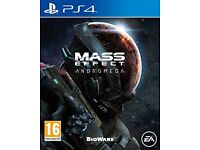 Mass Effect Andromeda - PS4 Mint Condition