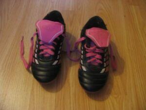 Girls Baseball Cleats - size 2