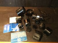 Reduced!! Olympus OM10 with accessories