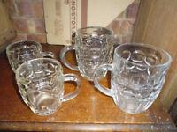 dimple beer mugs