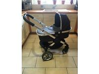 Icandy peach Pram Pushchair Stroller Travel System