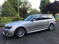 BMW 5 Series 3.0 530d M Sport Touring ** NEW MOT + SATNAV **