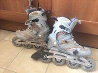 SALOMON Inline roller skates size 6.5 UK - 401/3 EU - wheel size 90mm