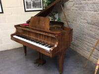 Gorgeous Walnut 1930 Steck Overstrung Baby Grand Piano - CAN DELIVER