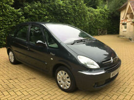 2007/07 Citroen Xsara Picasso 1.6i 16v 110hp Exclusive