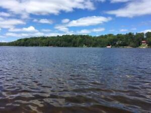 100 feet of waterfront on inland lake - Private Twin Lakes Road