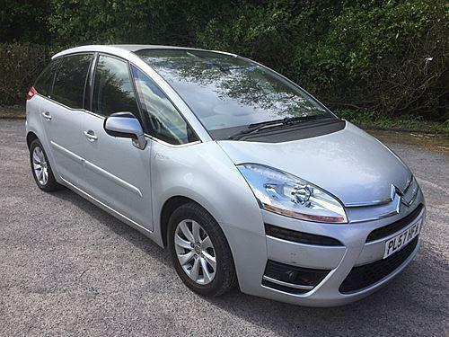 2008 CITROEN C4 PICASSO EXCLUSIVE HDI 5STR EGS MPV (MULTI-PURPOSE VEHICLE) DIESE