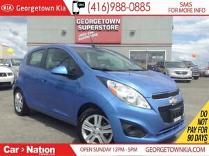 2013 Chevrolet Spark LT | 2,726KMS | LEATHER TRIM | WHY BUY NEW