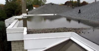 TOITURES 514-659-7090 ROOFING 24 HRS 7 JOURS