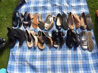 Shoe bundle size 7-8 ladies. 13 pairs