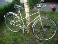 Ladies vintage Elswick 'sovereign' 5 speed lightweight. (Made in England)