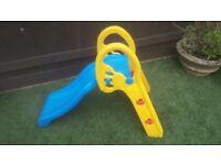 Childrens indoor outdoors slide