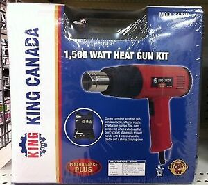 King Canada Heat Guns - Brand New and Sealed!  2 Available