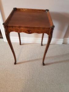 Refurbished Antique End Table