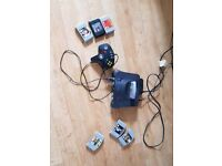 N64 1 control and 8 games