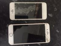 IPHONES & TOSHIBA TABLET FAULTY
