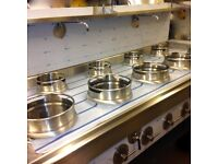 CHINESE WOK COOKER,4+3, DIRECT FROM FACTORY,CHOICE OF BURNERS,NATURAL GAS OR LPG £3300