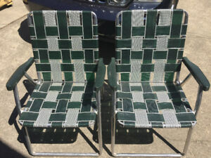 Brand new folding own chairs