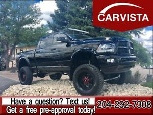 2014 Ram 3500 Laramie -LIFT/37 TIRES/TWIN TURBO/TUNED-