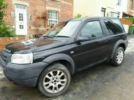 LANDROVER FREELANDER 1.8 PX SWAPS WELCOME