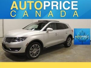 2016 Lincoln MKX Reserve PANOROOF|NAVIGATION|LEATHER