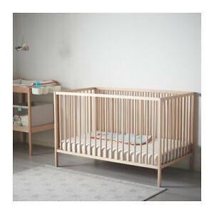 IKEA children's crib and mattress