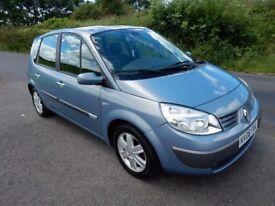 2006 renault scenic 1.6 petrol .. full mot .nice car