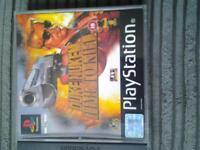 PS1 game Duke Nukem - Time To Kill
