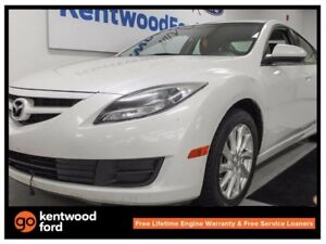 2013 Mazda Mazda6 GS-I4, its a nice white and its your next buy!