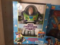 First generation of Toy Story figures
