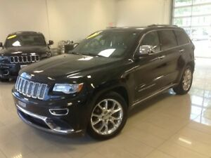 2014 Jeep Grand Cherokee Summit, 4X4, NAV, 8.4 ECRAN, A/C, BLUET
