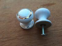 Porcelain cupboard knobs