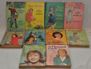 Lot of hard cover vintage novels from 1950's and 1960's
