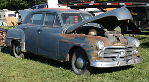1950 Dodge Deluxe Restoration Project Car