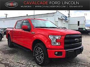 "2015 Ford F150 4x4 - Supercrew Lariat- Sport Package - 157"" WB"