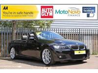 2008 BMW 3 Series 3.0 330i M Sport 2dr Petrol black Automatic