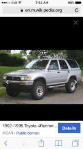 ISO 1992-1995 4Runner parts