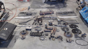 Beetle and karmann ghia parts used