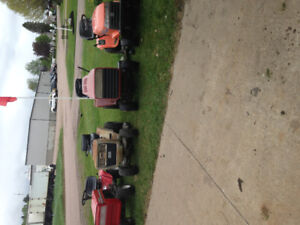 Looking for riding mowers dead or alive