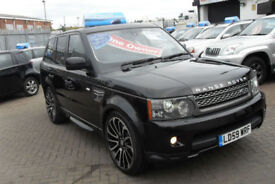 Land Rover Range Rover Sport 5.0 V8 SUPERCHARGED auto 2009 HSE