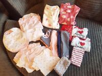 **Bundle of Girl's - First Size Clothes**