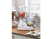 JD Williams mixer and blender brnad new and in box 700 watts food processor