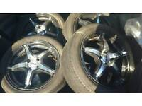 Alloy wheels 4 stud