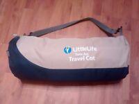 Arc 2 Lightweight Travel Cot & Sunshade